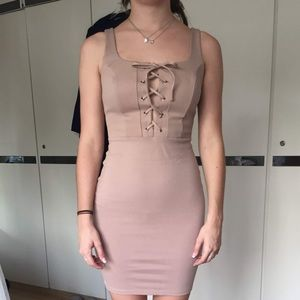 Lace Front Bodycon